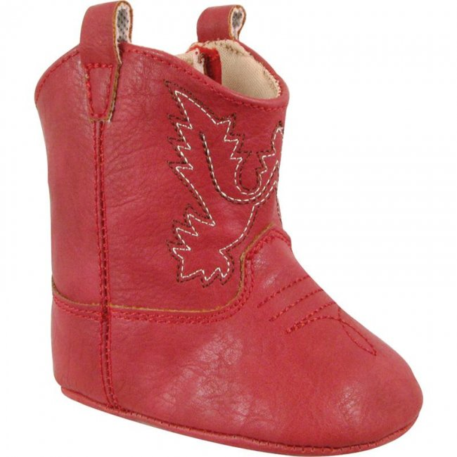 Baby Deer Red Soft Sole Western Boots