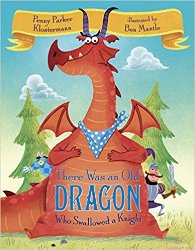 """There Was an Old Dragon Who Swallowed a Knight""  Book"