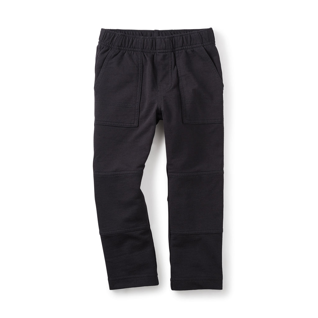 Jet Black French Terry Play Pants