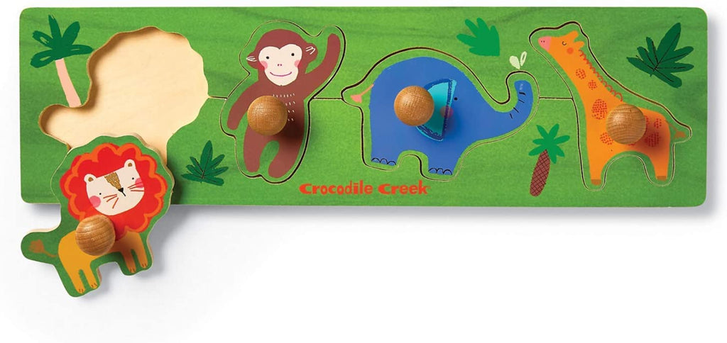 Jungle - Wooden Knob Puzzle