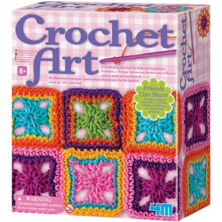 Crochet Art Activity Set