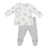 Grey Hippo Bamboo TMH Set