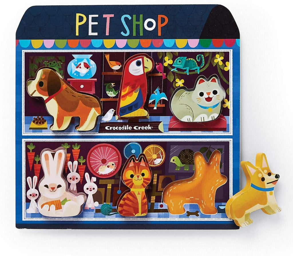 Pet Shop - Wooden Puzzle