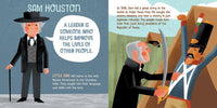 Courageous People from Texas who Changed the World - Board Book