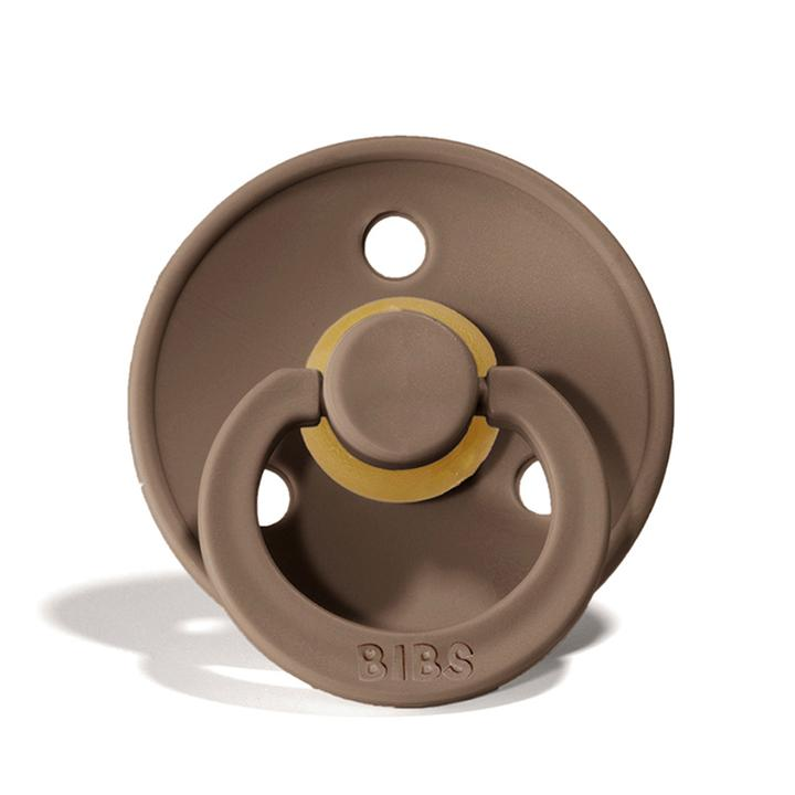 Size 2 Bibs Pacifier - Dark Oak