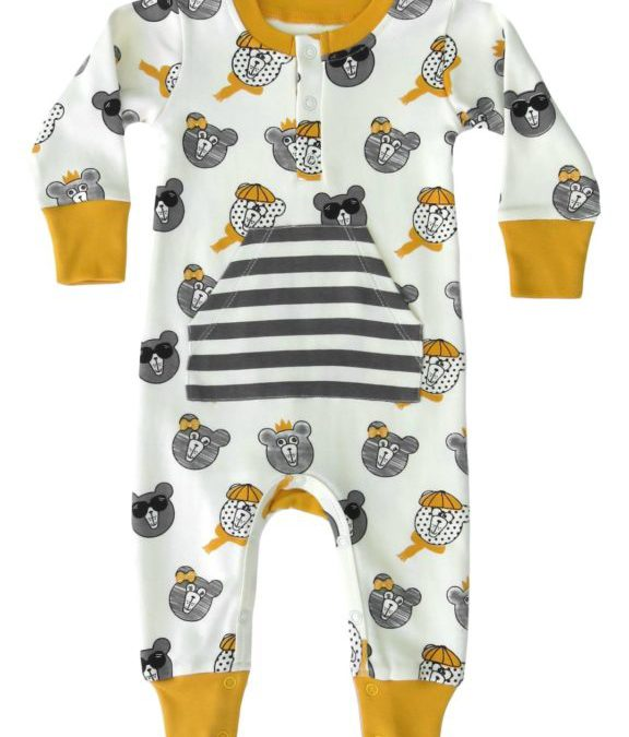 Bears Organic Cotton Coverall