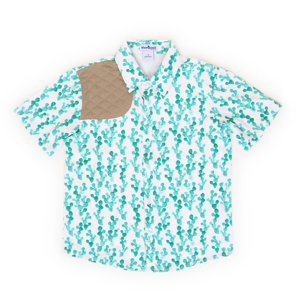 Cactus Short Sleeve Ranch Shirt