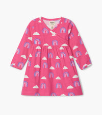 Happy Rainbows Baby Crossover Dress