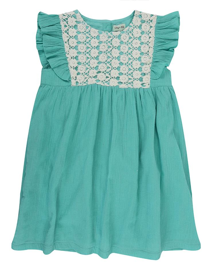 Mint Gypsy Dress front