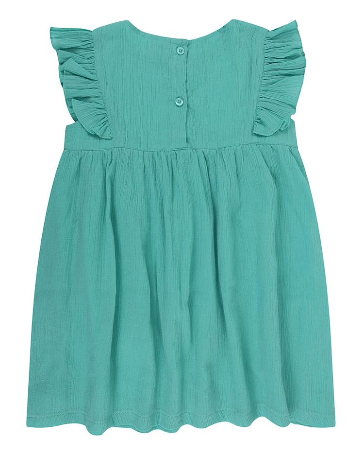 Mint Gypsy Dress back