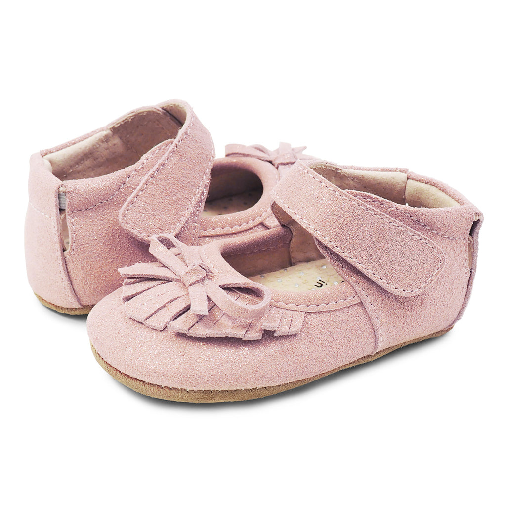 Willow Mary Jane Moccasin Baby Girls Leather Shoe