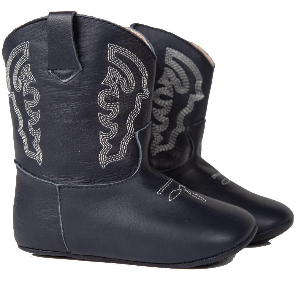 Blue Plano Baby Boots