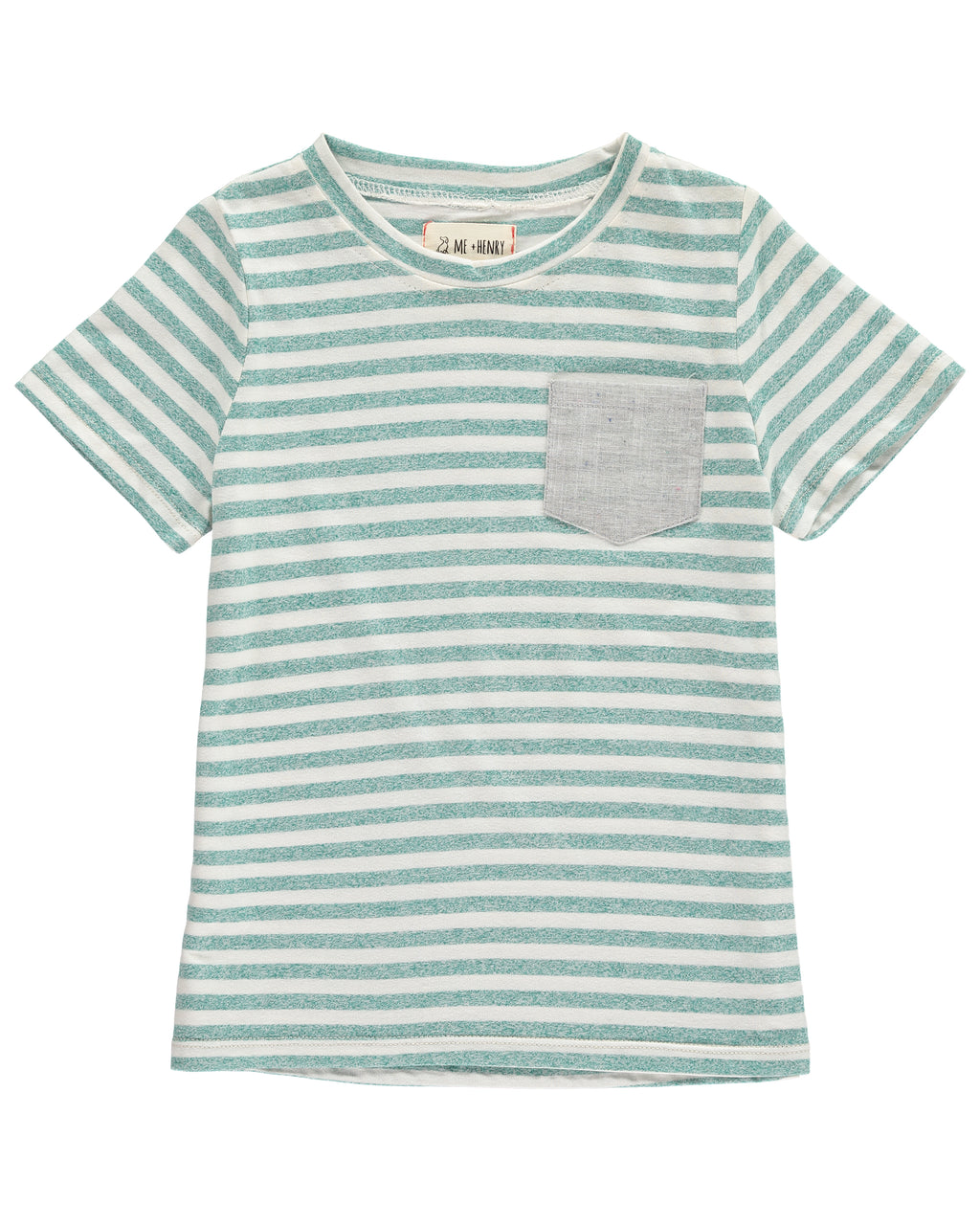 Green Striped Tee