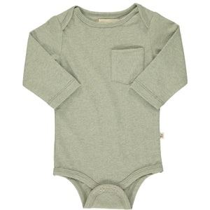 Sage Long Sleeve Onesie