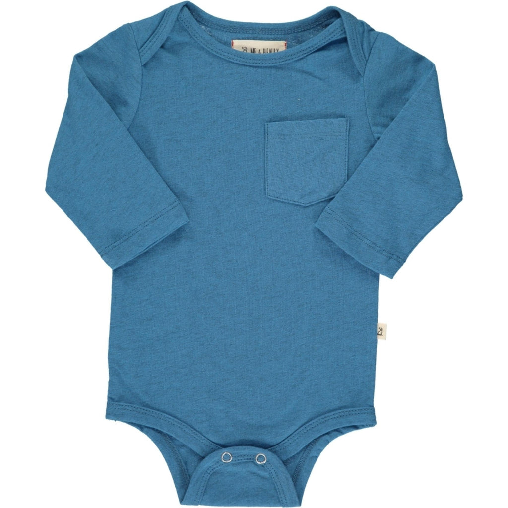 Cerulean Long Sleeve Onesie