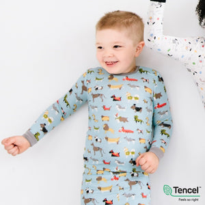 In-Dog-Nito Modal Magnetic Toddler Pajama Set