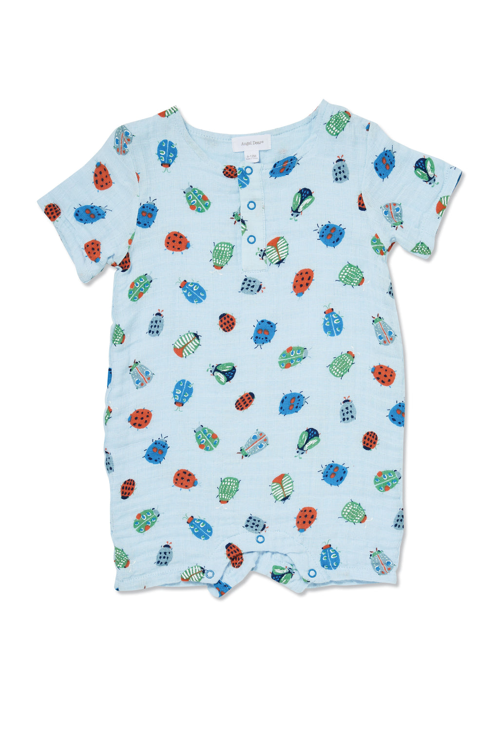Lovely Bugs - Muslin Henley Shortall