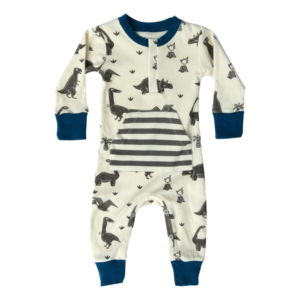 Lagoon Dinos Organic Cotton Coverall