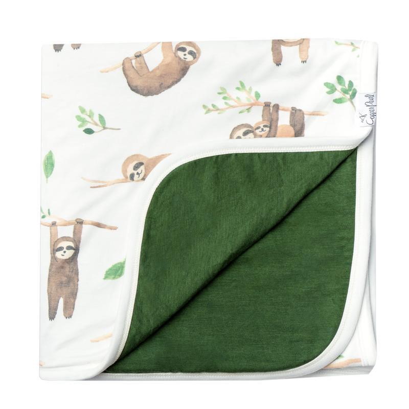 Noah/Sloth - Three Layer Stretchy Quilt