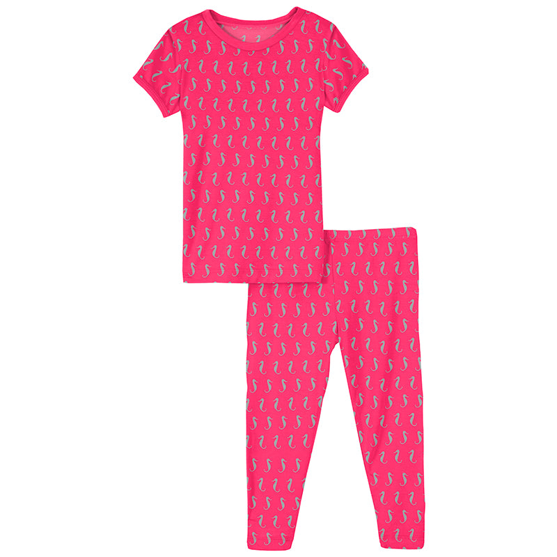 Pajamas - Prickly Pear Seahorses