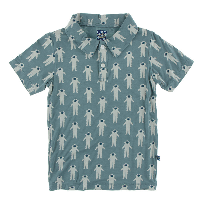 Dusty Sky Astronaut Polo Shirt