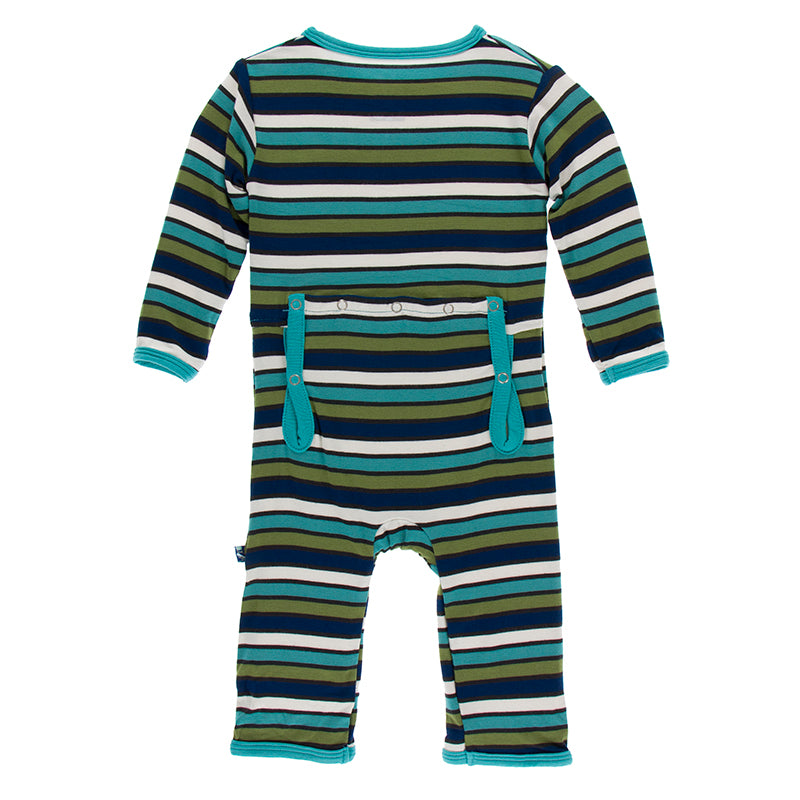 Grasshopper Stripe Coverall