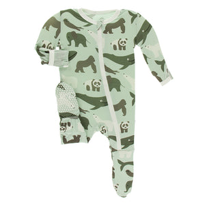 kickee pants biology zoology aloe endangered animals whale panda gorilla elephant