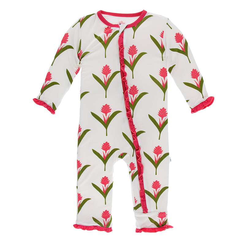 Red Ginger Flowers Coverall