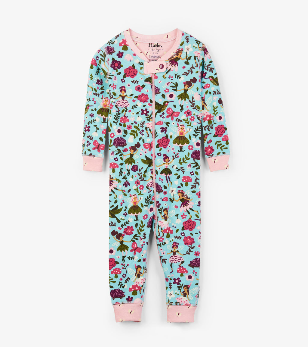 Forest Sprites Organic Cotton Coverall