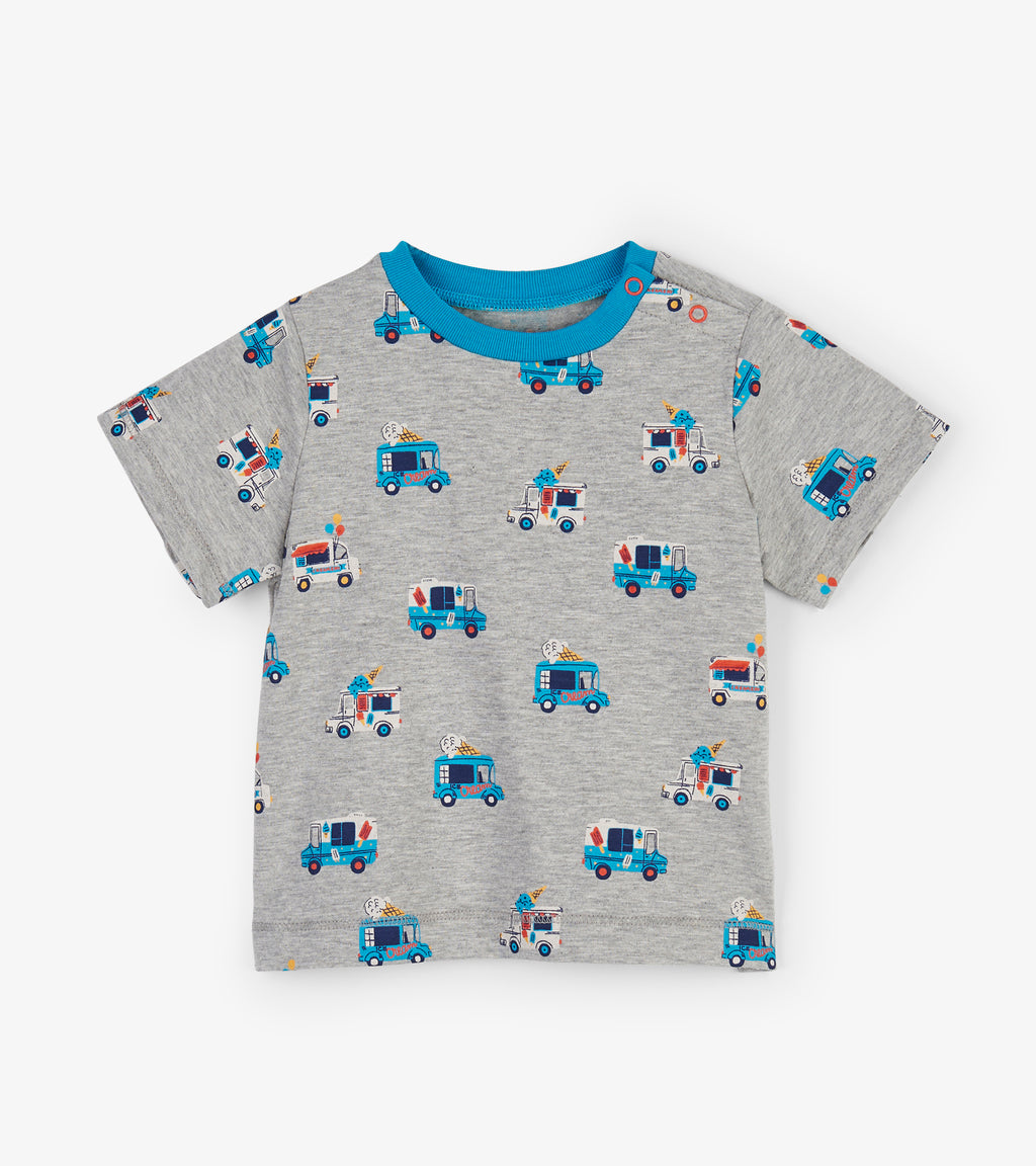 Ice Cream Trucks Baby Tee