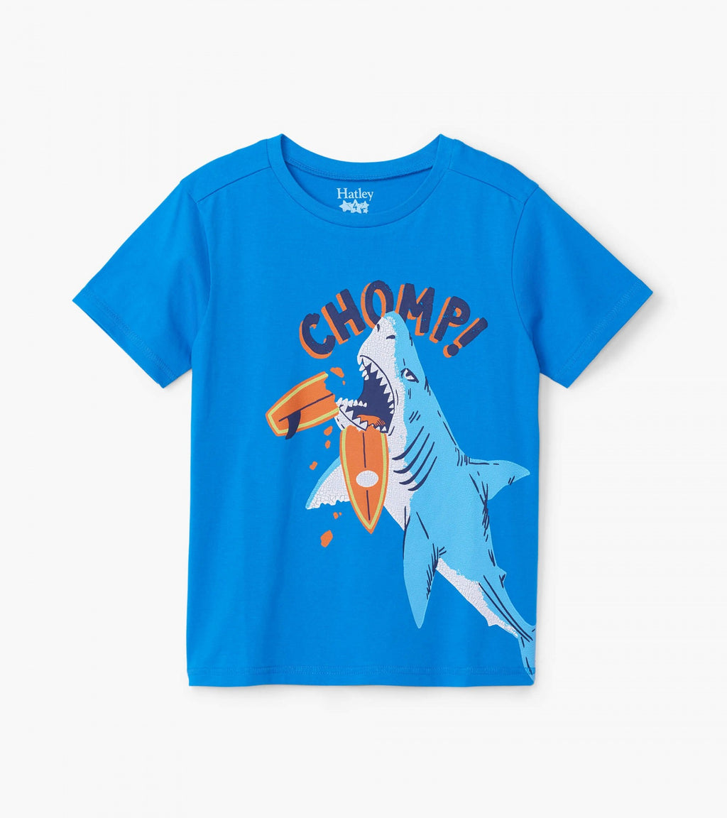 Chomping Shark Graphic Tee