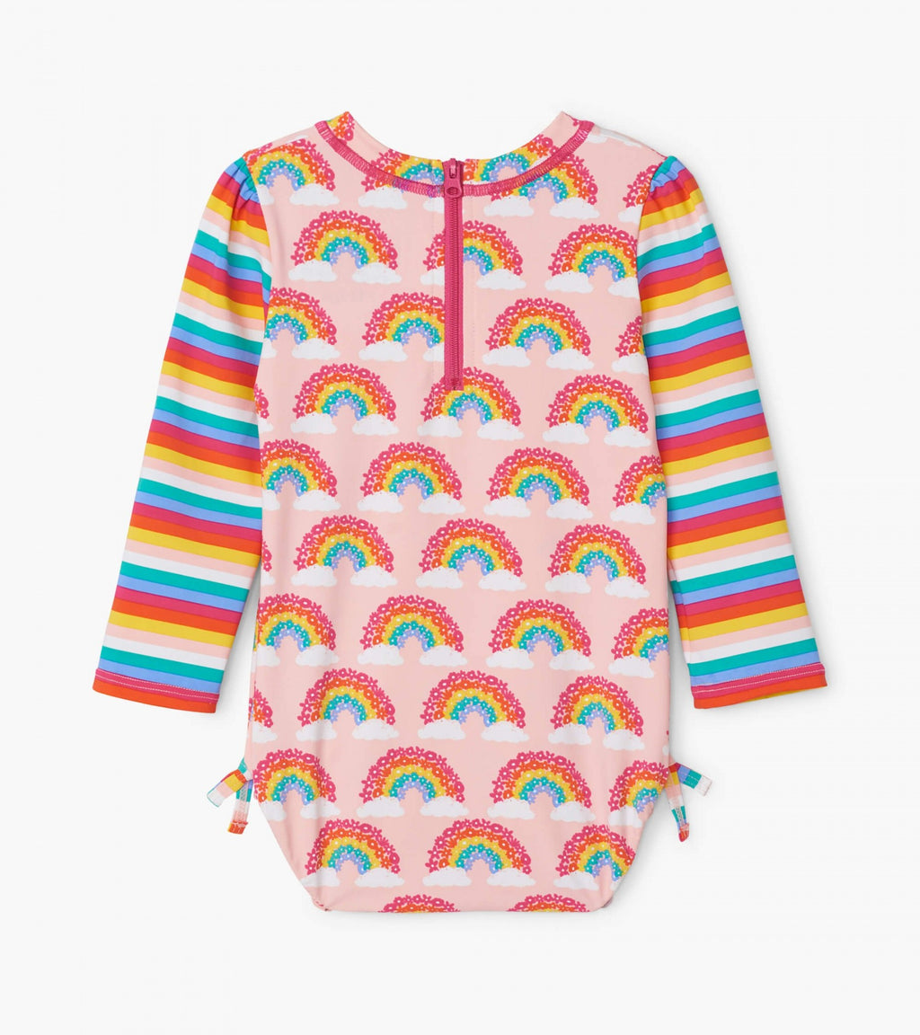 Magical Rainbows Baby Rashguard Swimsuit