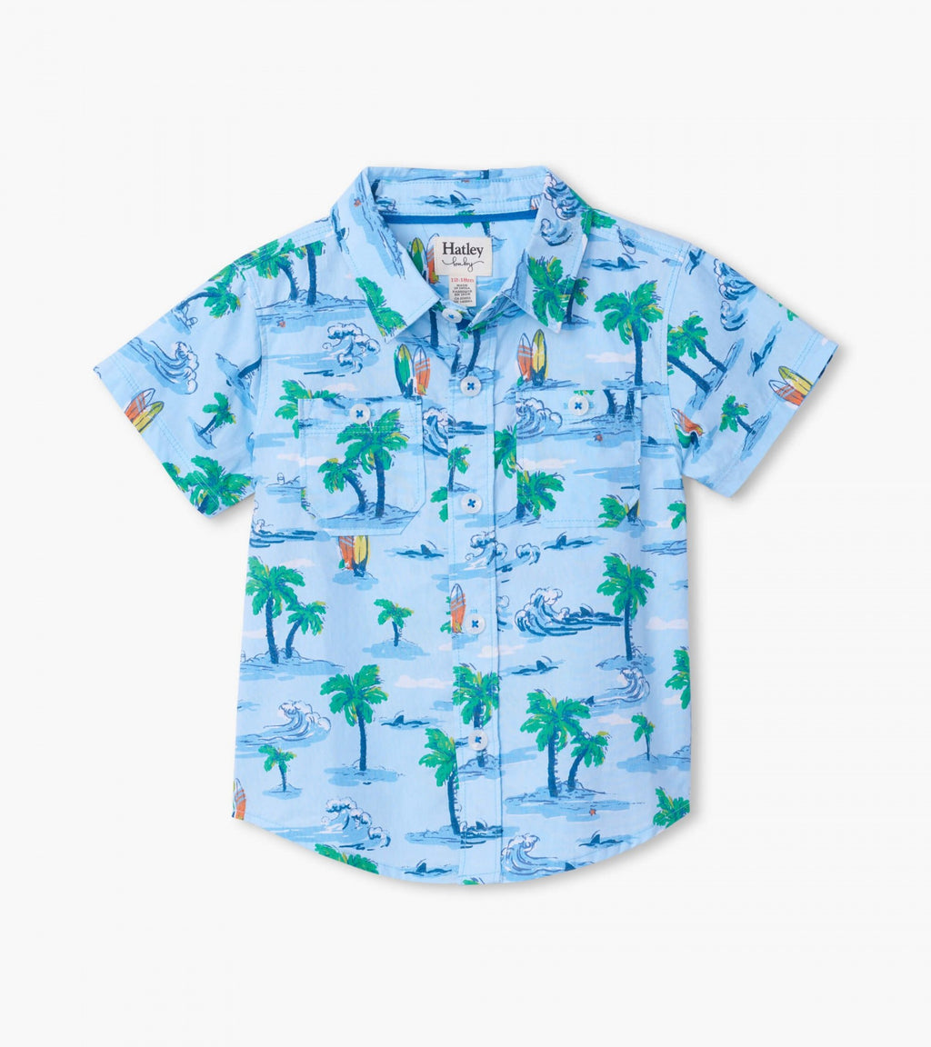Hawaiian Tropics Baby Button Down Shirt