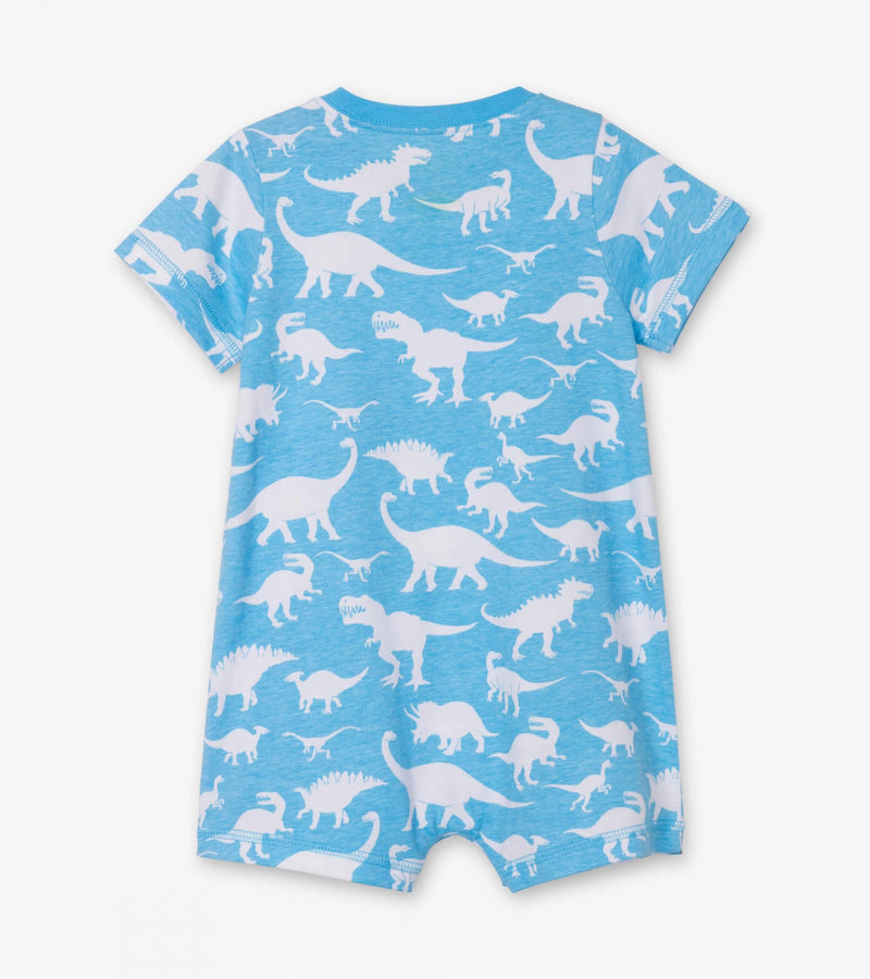 Dino Silhouettes Baby Romper