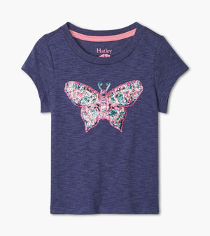 Delightful Butterfly Graphic Tee