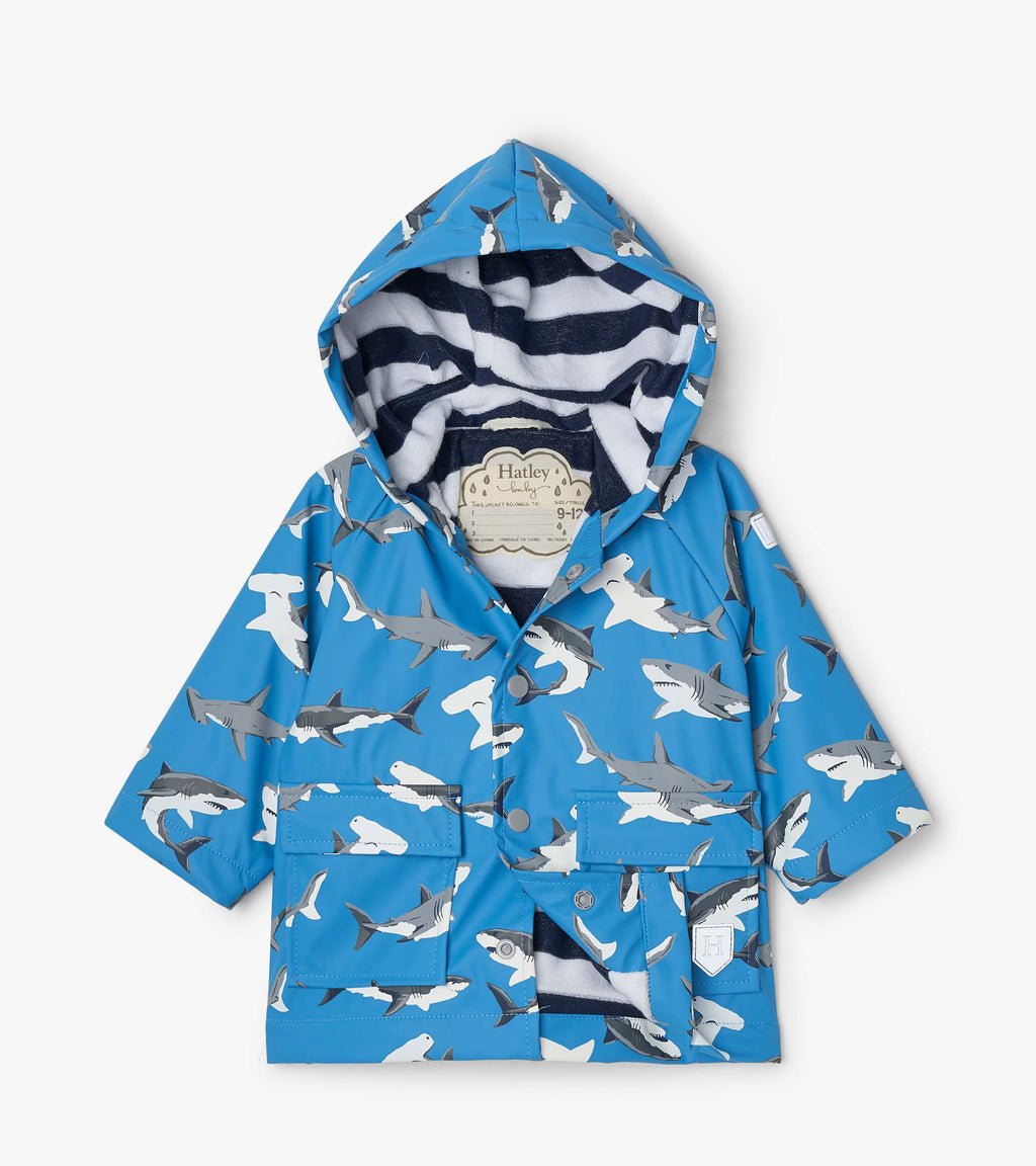 Shark Color Changing Raincoat