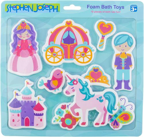 Princess Foam Bath Toys