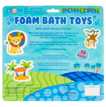 Zoo Foam Bath Toys