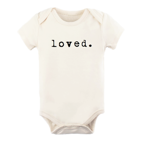 Loved - Organic Short Sleeve Onesie
