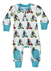 Scooter Pup Organic Cotton Coverall