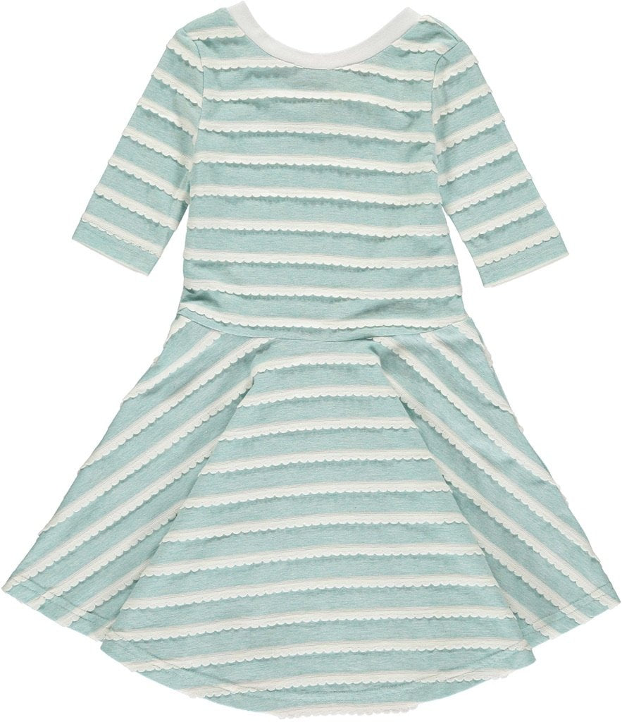 Abbey Dress - Aqua