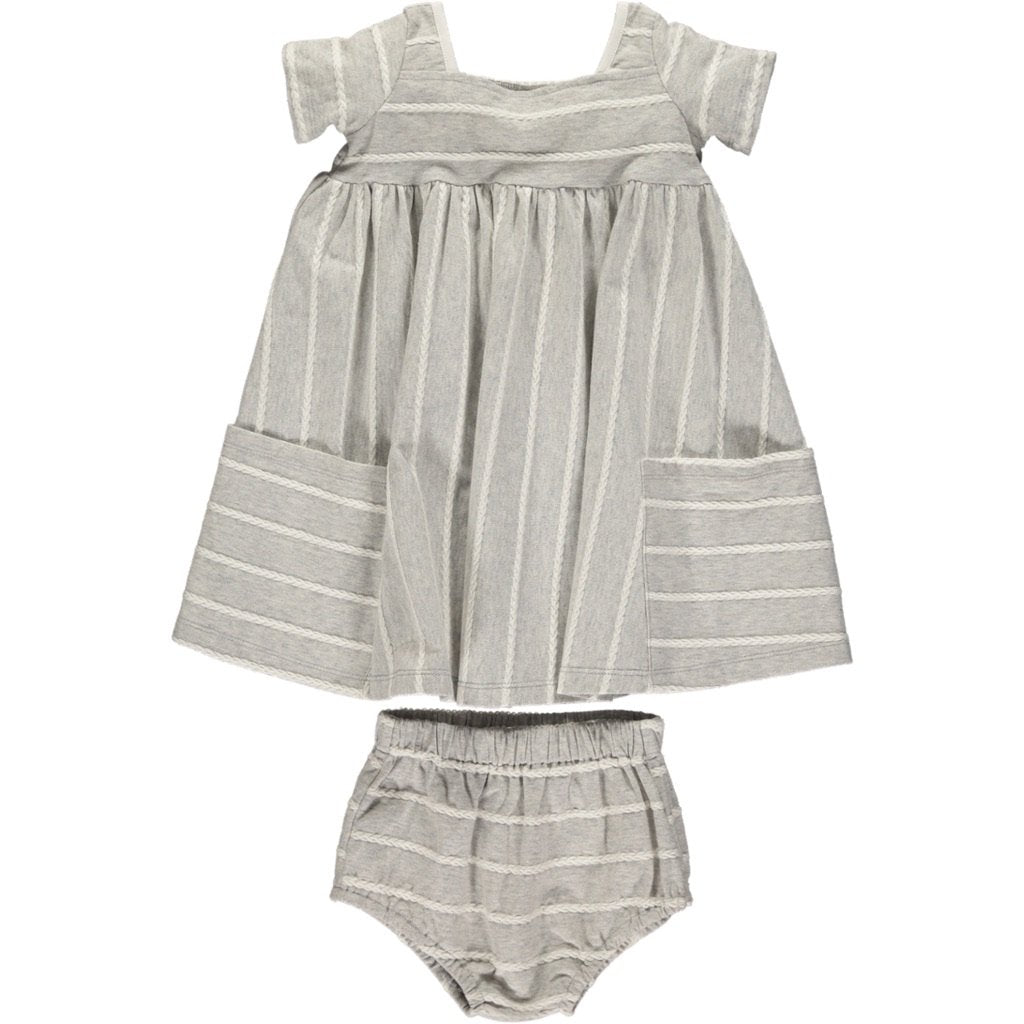 Rylie Dress Set - Dove