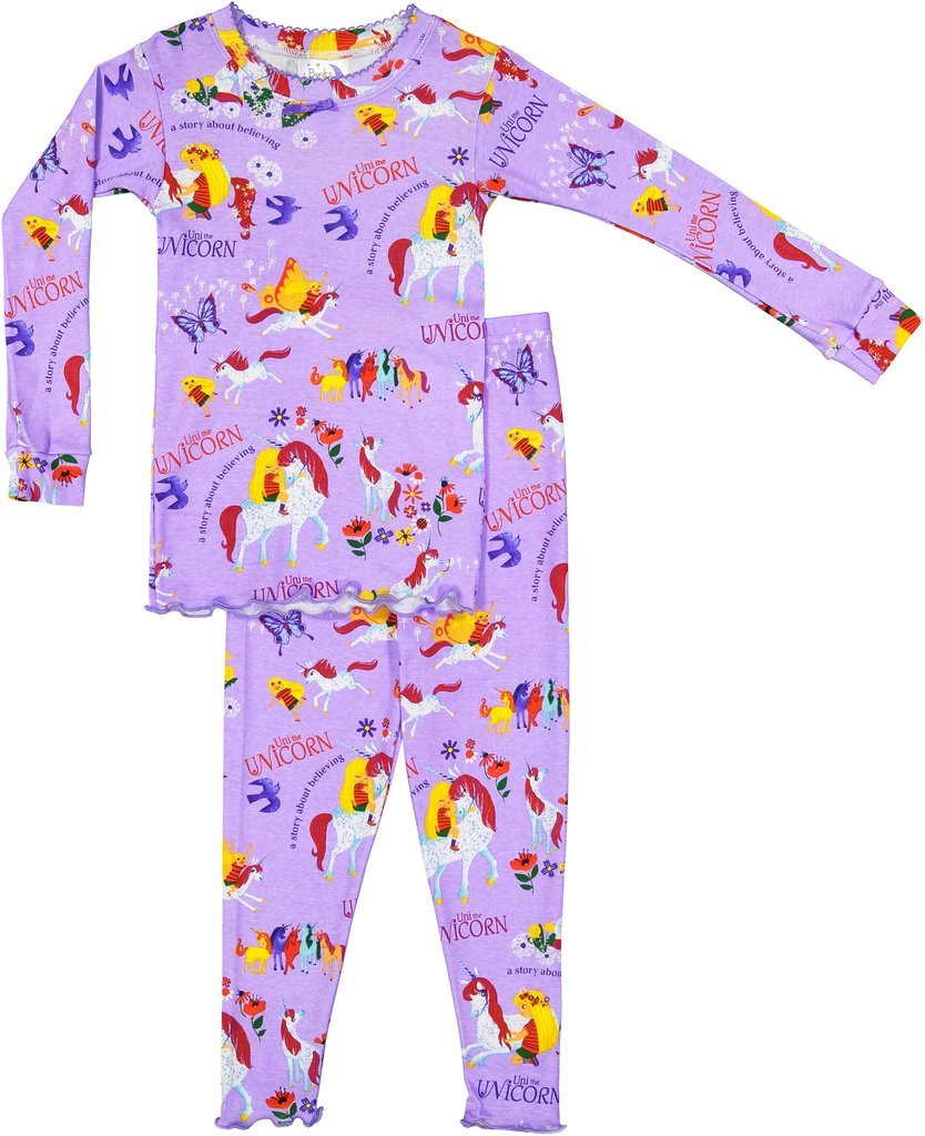 Uni the Unicorn Long Johns