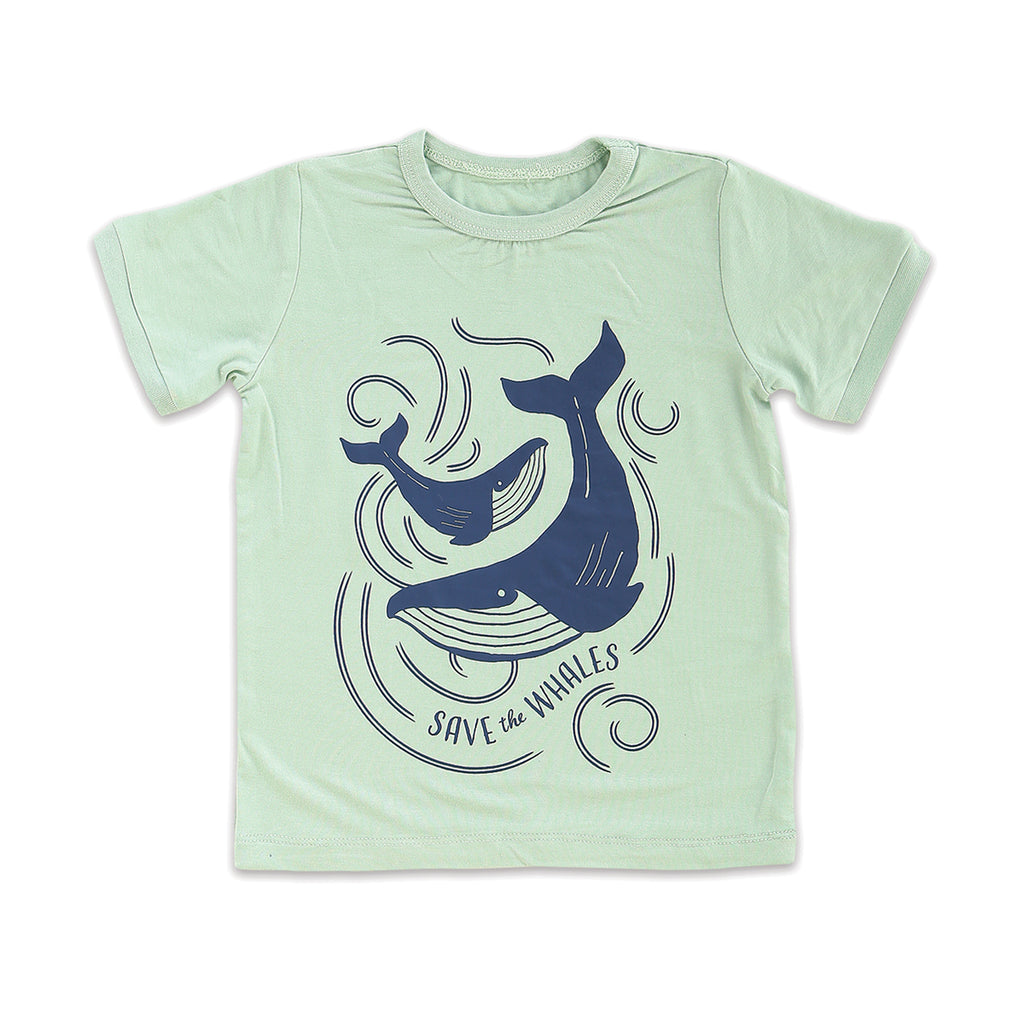 Save the Whales Short Sleeve Tee