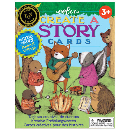 eeBoo Animal Village Create a Story Cards