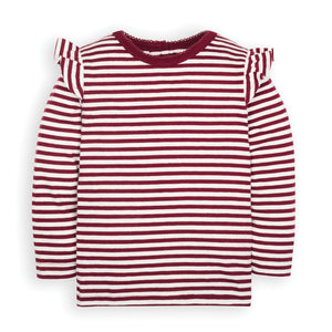 Berry Stripe Top