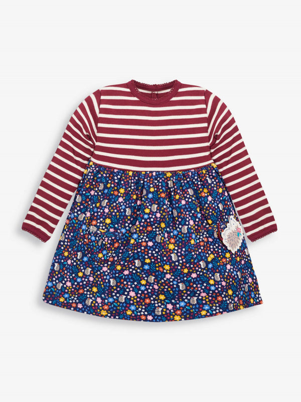 Hedgehog Pocket Friends Dress