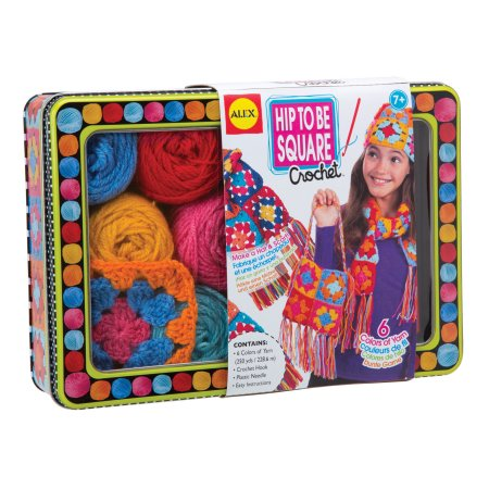 Hip to be Square Crochet Activity Set