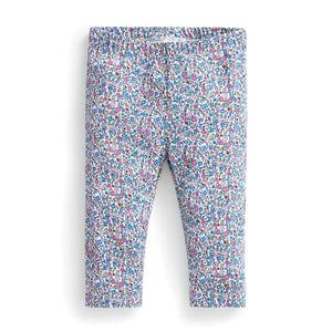 18-24m - Summer Ditsy Cropped Leggings