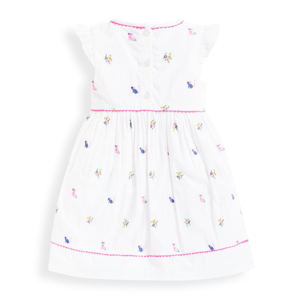 Mouse Embroidered Dress